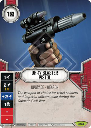 Pistola Blaster DH-17