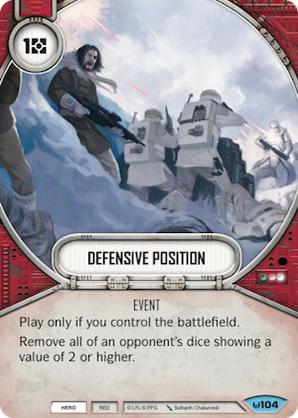 Posição Defensiva