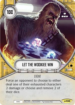 Deixe o Wookiee Vencer