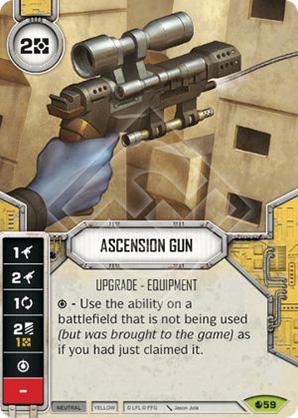 Pistola de Ascensão