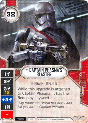 Captain Phasma's Blaster