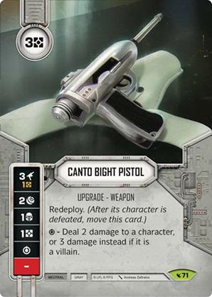 Pistola de Cano Bight