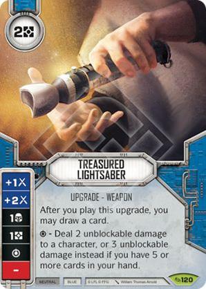 Treasured Lightsaber