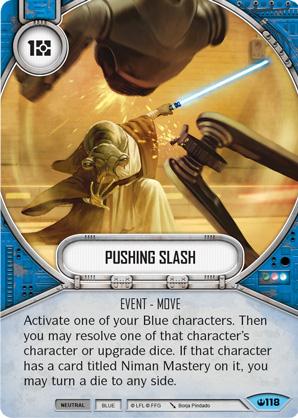 Pushing Slash