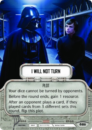 I Will Not Turn